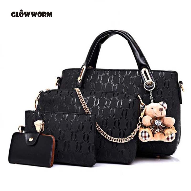Famous Brand Women Bag Brand 2017 Fashion Women Messenger Bags Handbags PU Leath