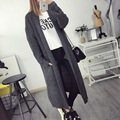 Female Korean Fashion Loose Sweater Coat Pregnant Woman Sweatshirt Maternity Long Cardigan Sweater Maternity Clothes Pregnancy