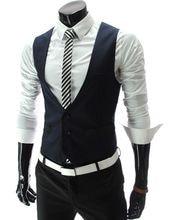 New Design Navy Blue Mens Suit Vests Custom Made Wedding Prom Party Waistcoats Casamento Colete Gilet