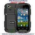 Original oinom lmv9d mtk6572 dual core teléfono móvil robusto android ip67 a prueba de polvo a prueba de choques impermeable del teléfono 4500 mah de la batería
