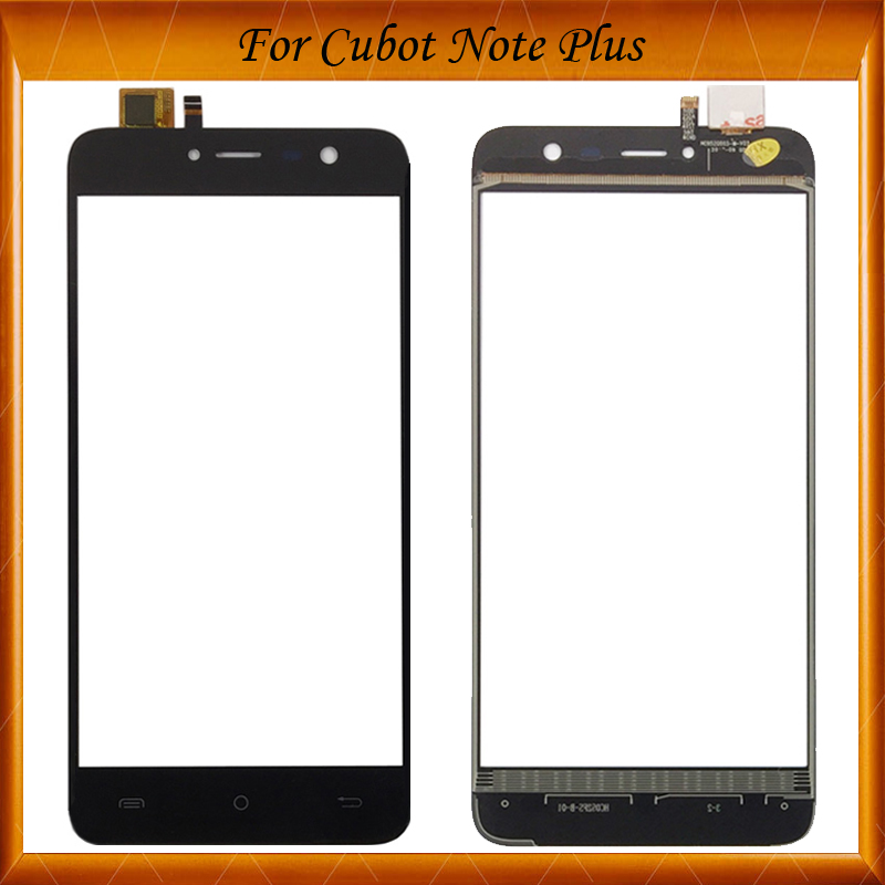100% Tested For CUBOT Note Plus Touch Screen Digitizer+Tools 100% New 5.2inch For Note Plus Touch Panel Glass Sensor Spare Parts