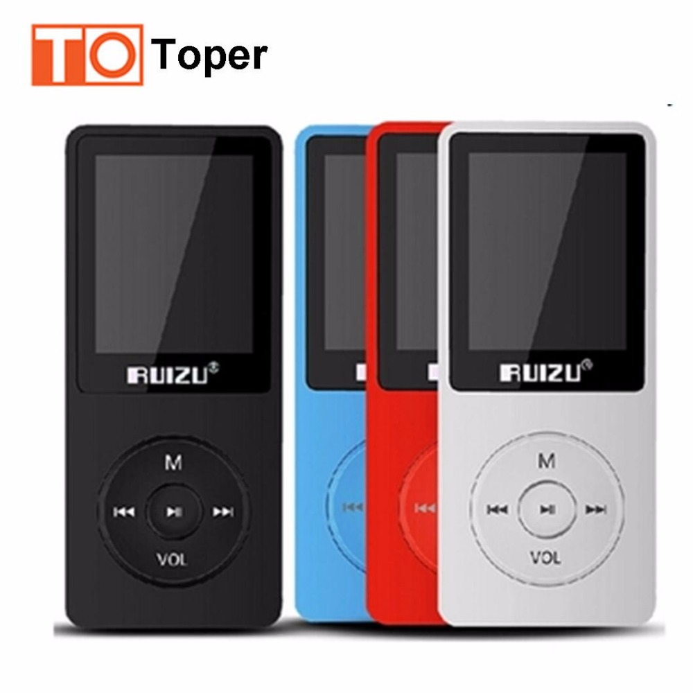 100 Original 1 8 TFT Screen RuiZu X02 HiFi 4GB Reproductor Sport Music MP3 Player FM