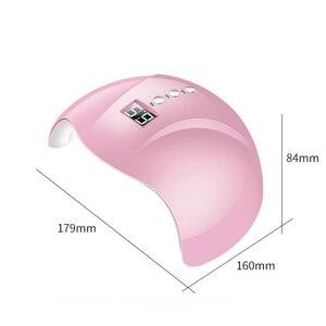 Image 2 - Lampe à ongles UV professionnelle, sèche ongles en Gel 24W
