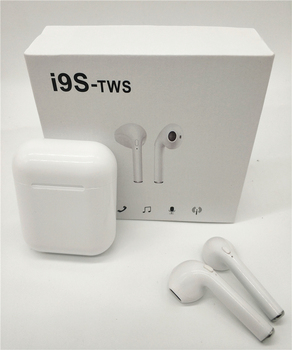 Evrensel I9S tws Bluetooth 5.0 Kablosuz Kulaklık Mini Kulaklık iphone için kulaklıklar 8 X Samsung S6 S8 + Huawei Onur 8 9 mate 8 9