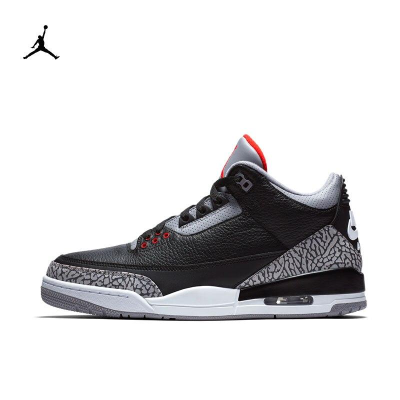 adc3f9e14b8 Original NIKE JORDAN 3 RETRO OG Men's Basketball Shoes New Arrival  Authentic Sneakers for Men Comfortable