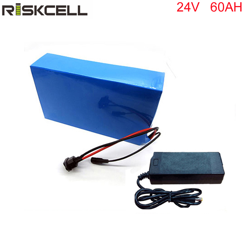 700W Electric Bike Ebike 24V 60AH Li-ion Battery with PVC Case, BMS  Charger Bike Electric Bicycle Battery For Electric Scooter 36v 8ah lithium ion battery 36v 8ah electric bike battery 36v 500w battery with pvc case 15a bms 42v charger free shipping