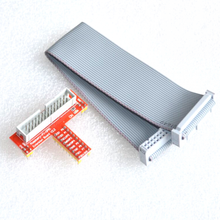 Free Shipping Raspberry Pi 3 T Expansion Board DIY Kit 40P Rainbow Cable+GPIO Expansion Board