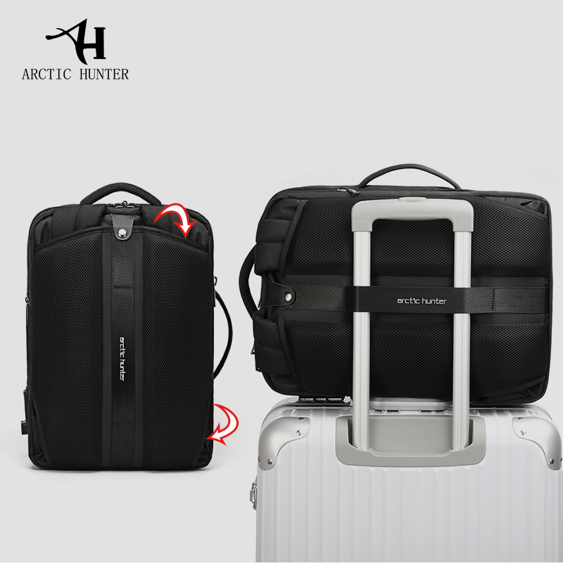 15.6 inch Multi functional Business Laptop Backpack - Water & Tear Resistant 5