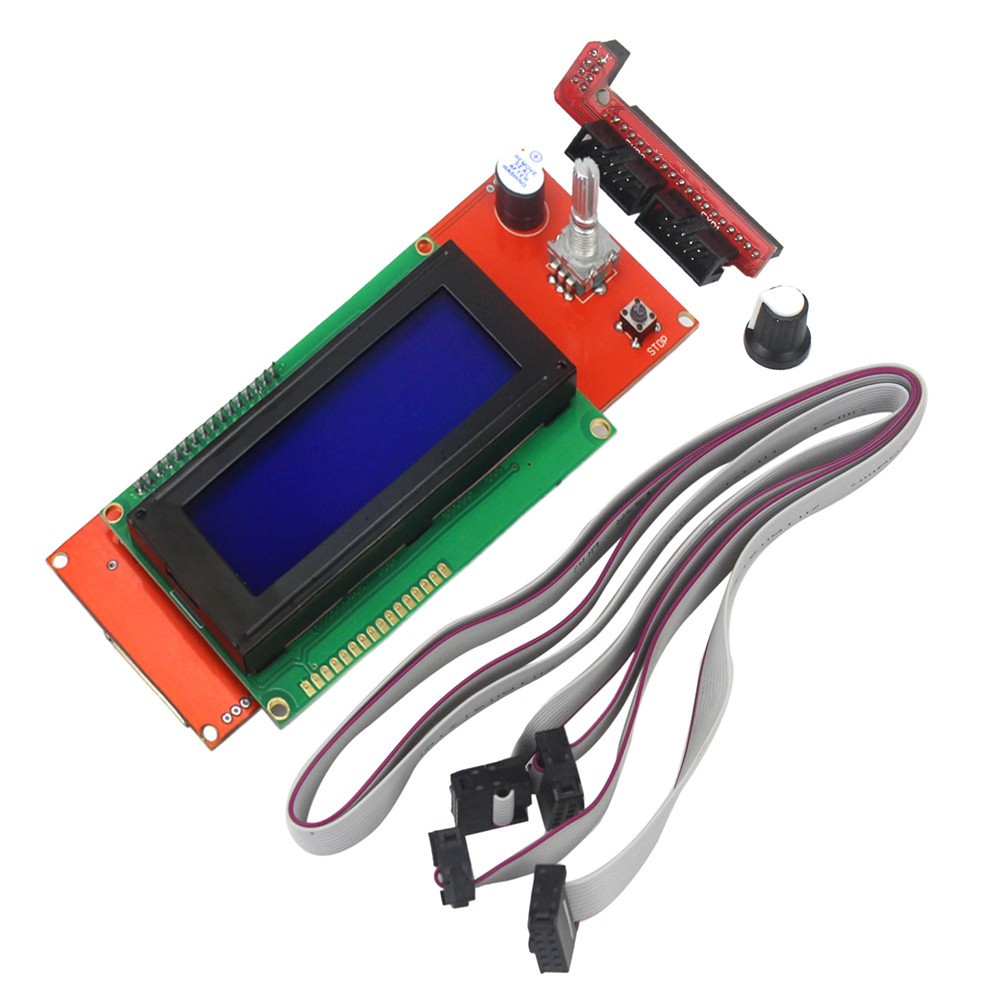 3D Printer Kit Reprap Smart Parts Controller Display Reprap Ramps 1.4 2004 LCD LCD 2004 Control3D Printer Kit Reprap Smart Parts Controller Display Reprap Ramps 1.4 2004 LCD LCD 2004 Control