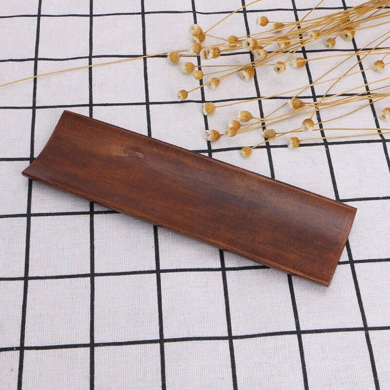 Деревянный поднос для суши пельменей, прямоугольная тарелка, салатные блюда для хлеба-2