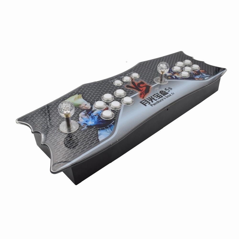 Boîte 6S 1388 en 1 console usb arcade joystick avec bouton de LED coloré kit zéro retard jeux joysticks pour boîte pandora