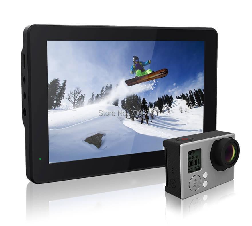 20% off LILLIPUT MoPro7 7 IPS LED Monitor for GoPro Hero 3+4 Series DSLR Camera Built-in 2600mAh Battery with HDMI AV Input