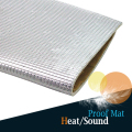"20CM x 100CM 8"" x 40"" Car Heat Shield Sound Insulation Proof Mat Protector Pad Deadener Deadening Anti Noise Self-Adhesive"