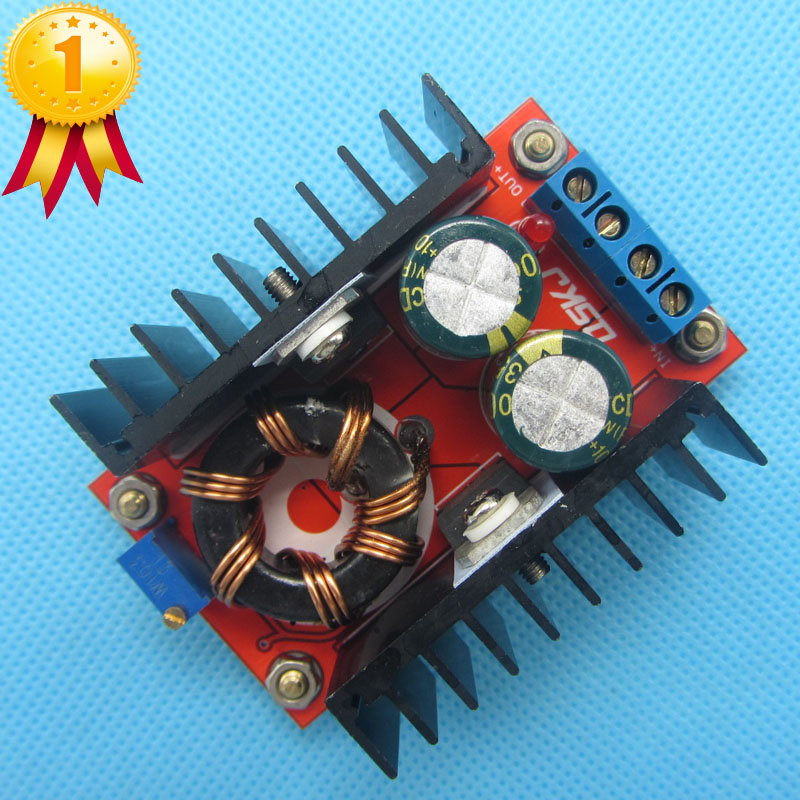 <font><b>150W</b></font> Boost Converter <font><b>DC</b></font>-<font><b>DC</b></font> 10-32V to 12-35V <font><b>Step</b></font> <font><b>Up</b></font> Voltage Charger Module image