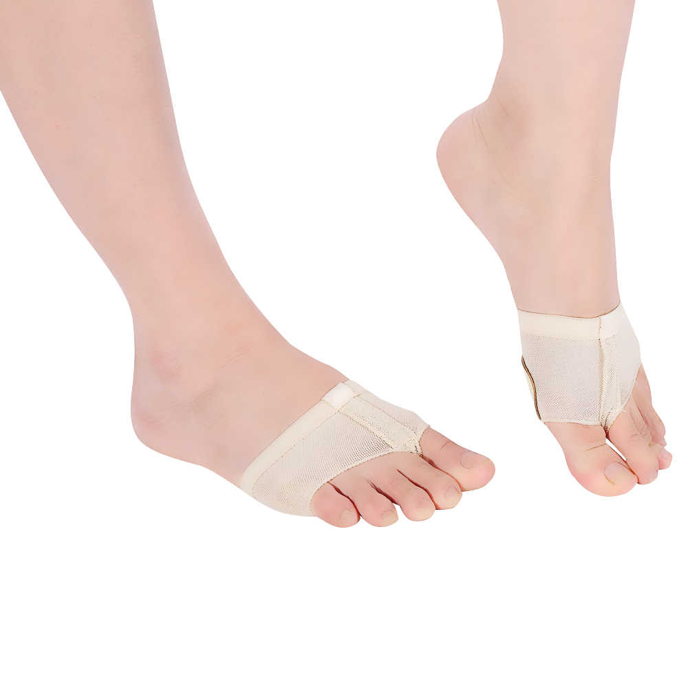 Wear-Resistant Forefoot Pad Shoe Insole Paws Cover Practice Sock Dance Toe Pad