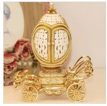 Shipping luxury European royal wedding gift Christmas music box carved the Qixi Festival girlfriend love wife