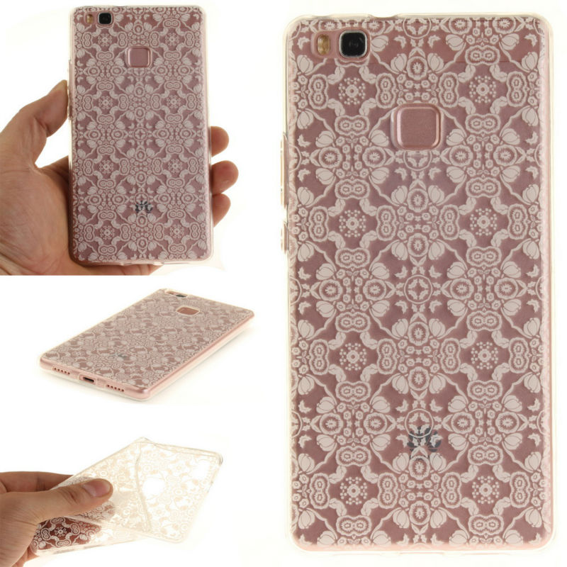 huawei usa phones. aiyvz brand newest 18 cute patterned tpu soft back case transparent mobile phone cases for huawei p9 lite cover russia usa usa phones