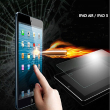 Hot ! Tempered Glass Screen Protector For ipad air / 2 ipad 5 6 with Retail box Explosion Proof Clear Toughened Protective Film