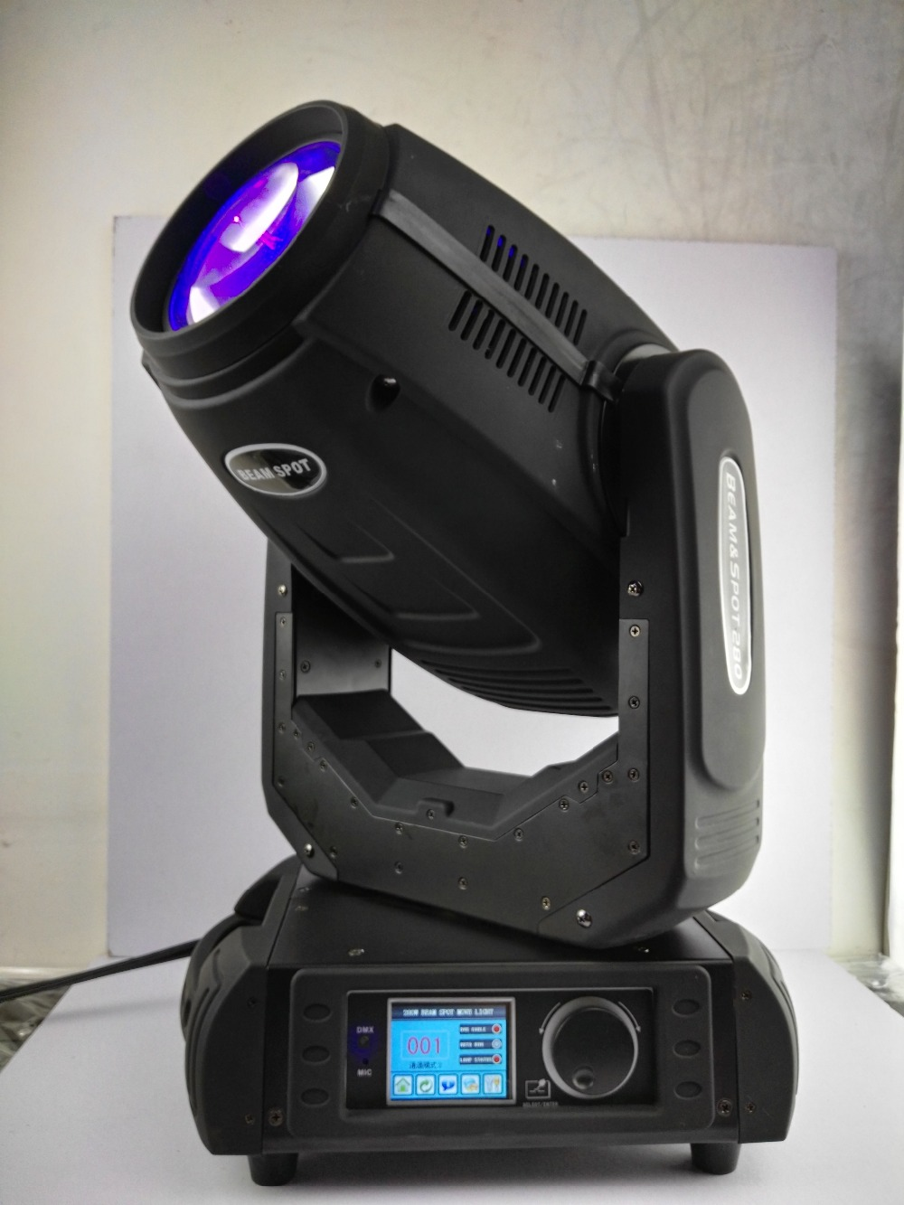 Super bright Robe pointe sharpy 280w 10r beam spot wash 3 in 1 moving head light with double flight case 3d zoom dmx disco light