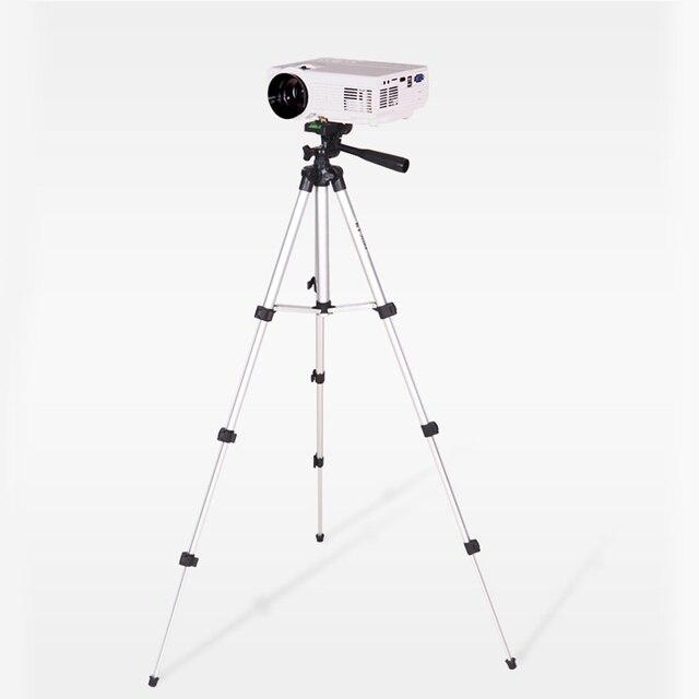 調整可能な 360 度カメラの三脚射影ブラケットスタンド足場写真プロジェクター拡張プロフェッショナル軽量