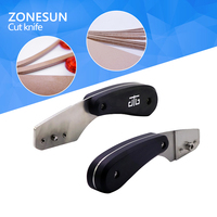ZONESUN 1PC Folding Utility Knife Set Stainless Steel Knife Quick Change Knife
