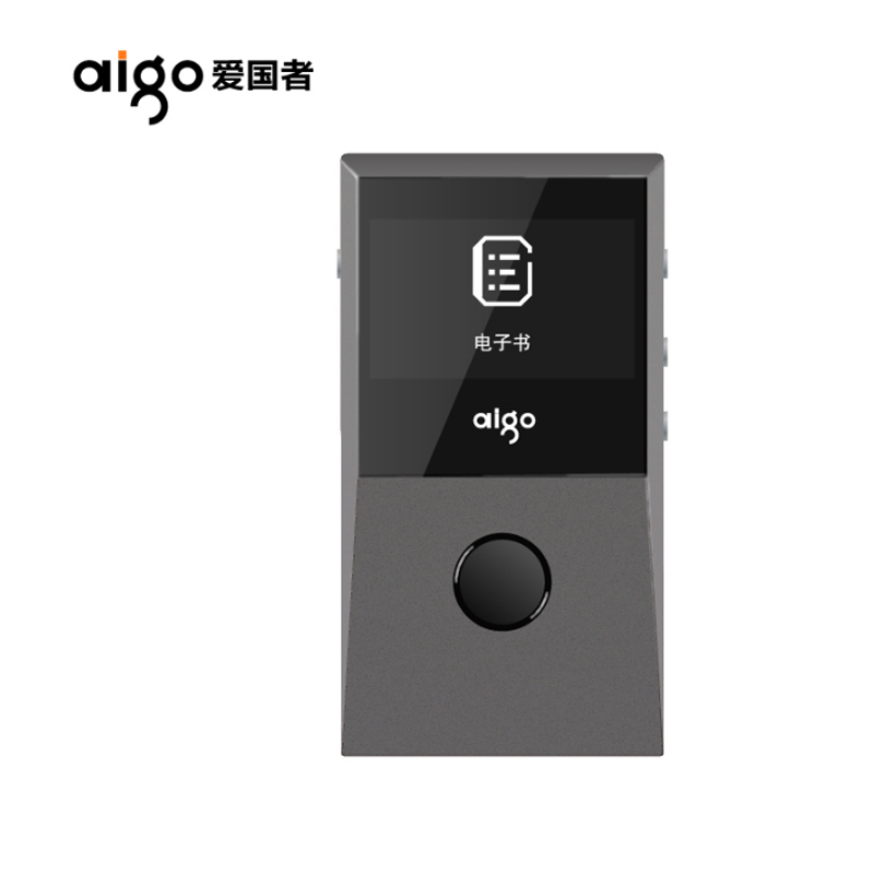 Original Aigo 205 Portable HIFI  Bluetooth 4.0 HD Lossless MP3 Player Recording Audio Movement Music Player E-Book FM Max 64GB 2016 brand new aigo eros q high quality dsd64 bluetooth 4 0 portable audio lossless hifi music player usb dac support otg