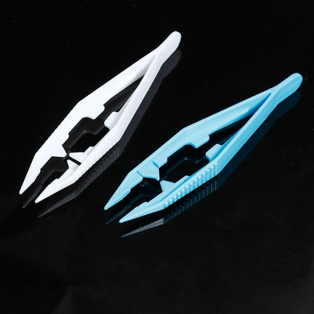 Plastic DIY Hama Beads Tools Clip Tweezers For Great Kids Fun Craft At Random 10.8cm(4 2/8) x 2.5cm(1) , 1 Piece