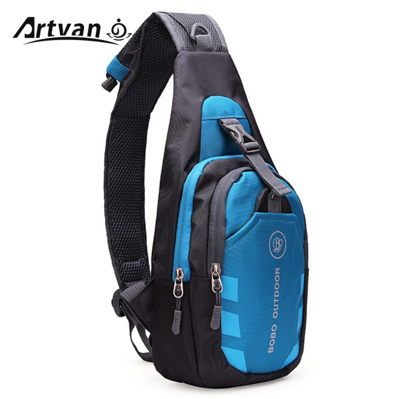 Unisex Nylon Chest Back Pack Crossbody Shoulder Bag Men Women Diagonal Package Rucksacks 2015 Hot YB20