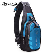 Unisex Nylon Chest Back Pack Crossbody Shoulder Bag Men Women Diagonal Package Rucksacks 2015 Hot YB20(China)