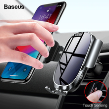 Baseus Intelligent Sensing Car Phone Holder For iPhone X XS