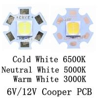 CREE XHP70 6500K Cool White 5000K Neutral White 3000K Warm White LED Emitter Didoes 6V 12V