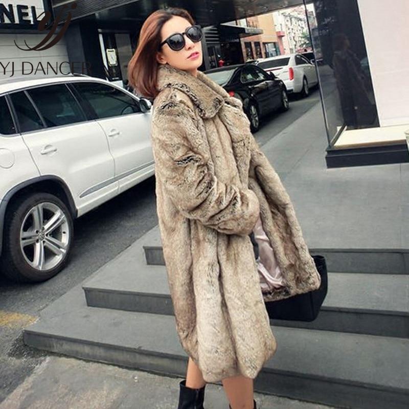 À Gray Css329 Hiver Haute Parka Fourrure Épais Manteau Chaud Nouveau 2018 Dames Imitation Longs Manteaux De Femmes Automne Mode La Trench BwqYHRq