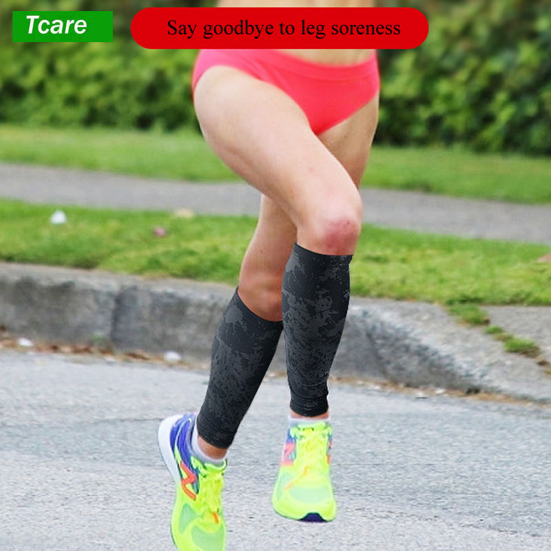Tcare 1Pcs Compression Calf Sleeves Leg Compression Socks for Shin Splints & Calf Pain Relief, Perfect for Men Women Runners 3