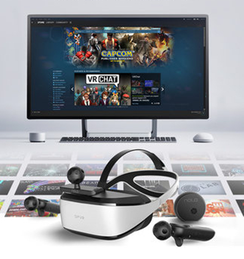 Deepoon E3 C Video Glasses Virtual Screen Smart Glasses 3d Vr Glasses Vr Games Film Vr Movies Virtual Reality Home Imax Nolo Cv1 3d Glasses Virtual Reality Glasses Aliexpress