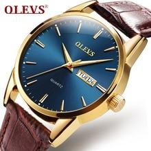 OLEVS High quality Japan movement Quartz Couple watch men lu