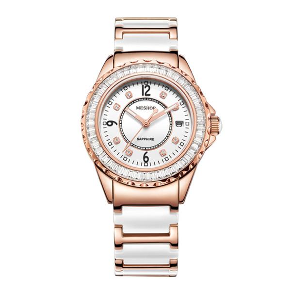 Prix pour (MESHOR) MS de mode en céramique montres MS.7006L. 48.135