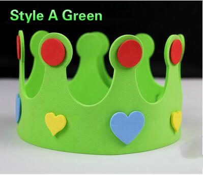5pcs / lot 10g EVA rođendan šešir dječje izvedbe rekvizite - Za blagdane i zabave - Foto 5