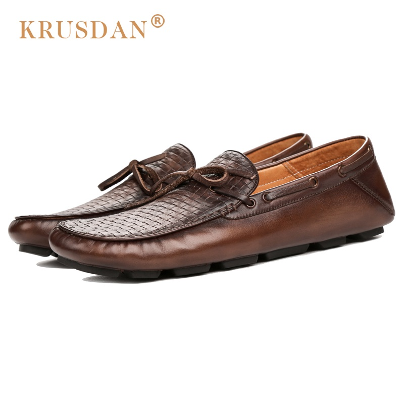2017 hot rushed Sapato Masculino fashion Custom Mens luxury Casual Shoes Handmade Slip On real Genuine Leather original design pl us size 38 47 handmade genuine leather mens shoes casual men loafers fashion breathable driving shoes slip on moccasins