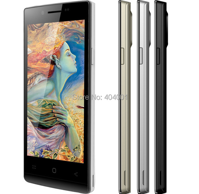 DOOGEE DG450 Latte MTK6582 Quad Core Phone 4.5'' IPS screen 1.3GHz Android 4.2 1GB RAM 4GB ROM 8.0MP GPS 3G In Stock Cell W