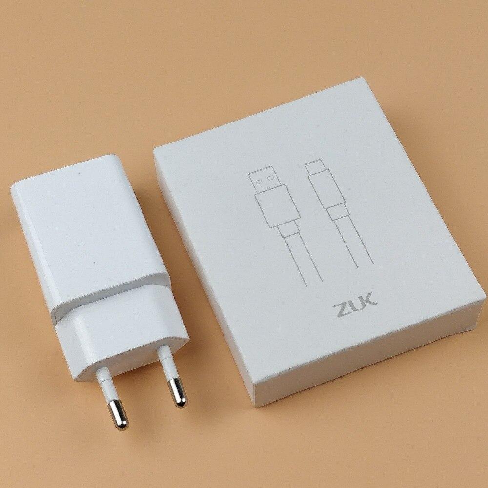 Lenovo Zuk Z2 Зарядное устройство оригинальный Z1/Z2/Z2 Pro/края смартфона 5V2A ЕС стены заряда Мощность адаптер и <font><b>Usb</b></font> типа C