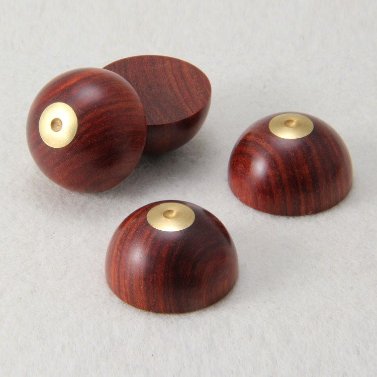 4PCS Rosewood speaker sound shock spikes nailed landline foot pads 23mm round self-adhesive Amp cone speaker pad  4 pair ebony and metal shock spikes 33mm tube amplifier speaker hiend 4 pcs pure dowel 4 pcs pure wooden mat