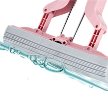 Mop special cotton head suction roller replacement folding magic filler for household floor cleaning high-density rubber sponge