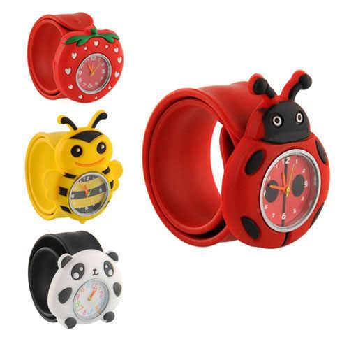 2019 новые модные милые часы с героями мультфильмов детские кварцевые Гибкие водонепроницаемые кварцевые часы для девочек и мальчиков 3D наручные часы с героями из мультфильмов