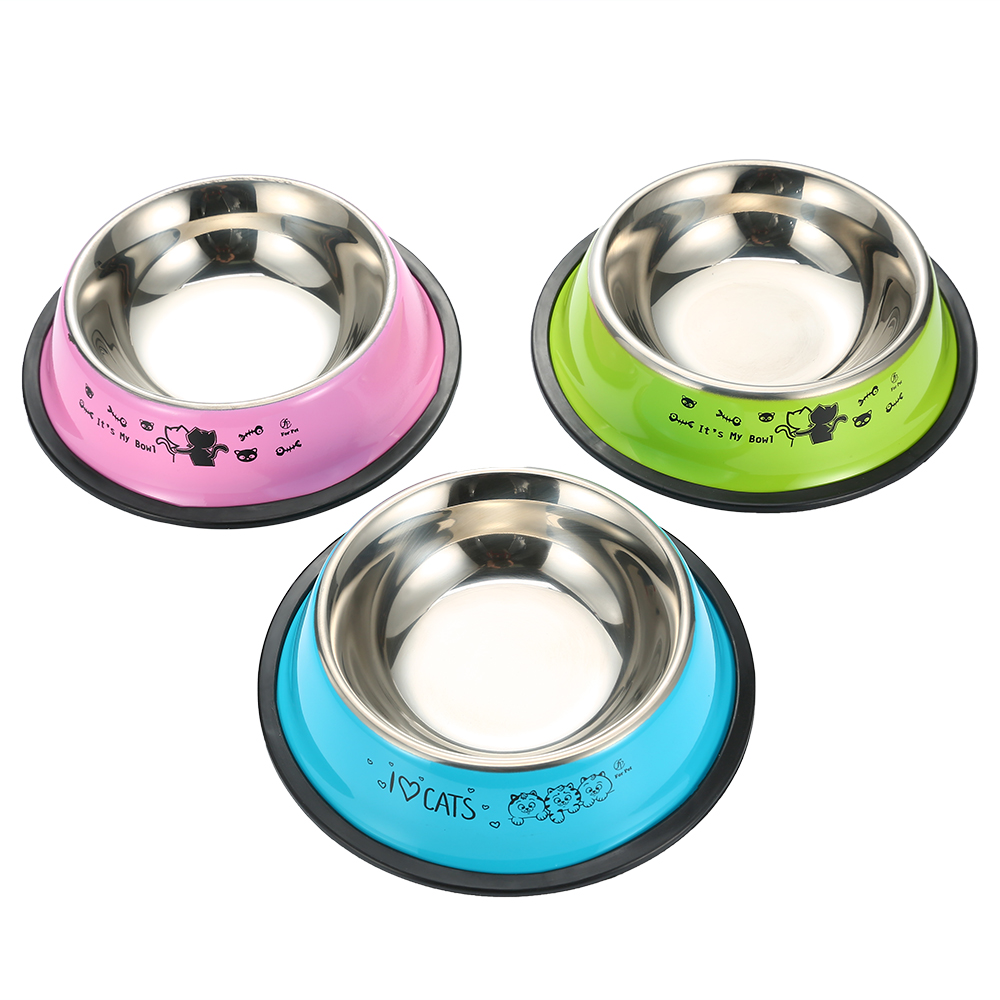Dog Bowl Travel Pet Dry Food Bowls For Cats Dogs Bowls Outdoor Drinking Water Fountain Pet Dog Dish Feeder