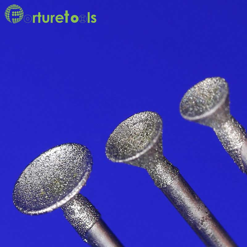 50 tk teemandiga kinnitatavad dremeli pöörlevad tööriistale - Abrasiivtööriistad - Foto 5