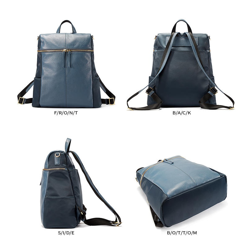 77f696cf9e9a EMINI HOUSE Fashion Women Backpack Genuine Leather School Bag Girls  Shoulder Bags Ladies Daily Purse Laptop Backpack Unisex Bag-in Backpacks  from Luggage ...