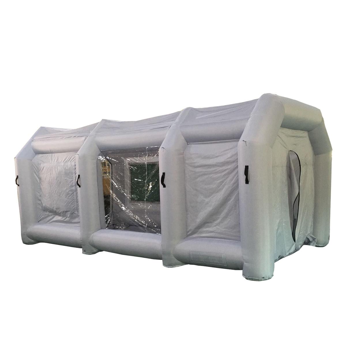 Большой 12 м/8 м гигантские надувные автомобиля рабочей станции Spray Paint Booth палатка Зонт палатки беседки патио сада пользовательские Express
