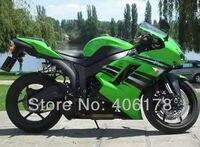 Hot Sales,high grade fairing For kawasaki Ninja ZX 6R 08 07 zx6r fairings 2007 2008 new Green Fairings Kit (Injection molding)