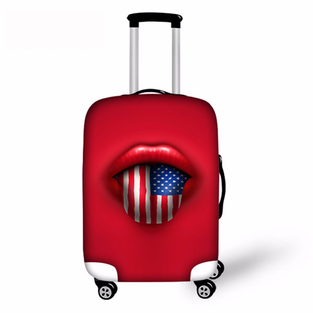 Noisydesigns United States, United Kingdom, Canada And Other National Flag Protective Cover Dust-proof Luggage Cover For S/M/L