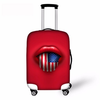 Noisydesigns United States, United Kingdom, Canada And Other National Flag Protective Cover Dust-proof Luggage Cover for S/M/L united arab emirates national flag 90 150cm 60 90cm 15 21cm for national day